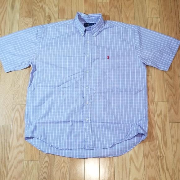 Polo by Ralph Lauren Other - Polo Ralph Lauren Blue Plaid Short Sleeved Shirt